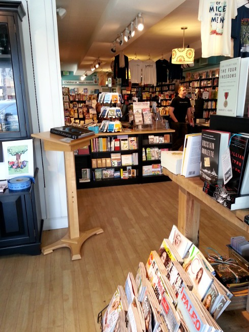 Inside {Pages} A Bookstore