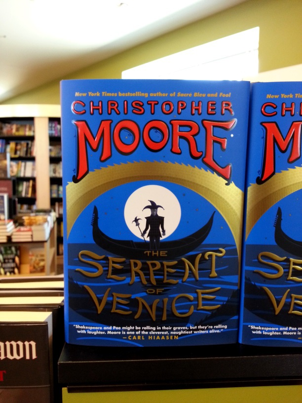 """The Serpent of Venice,"" by Christopher Moore."
