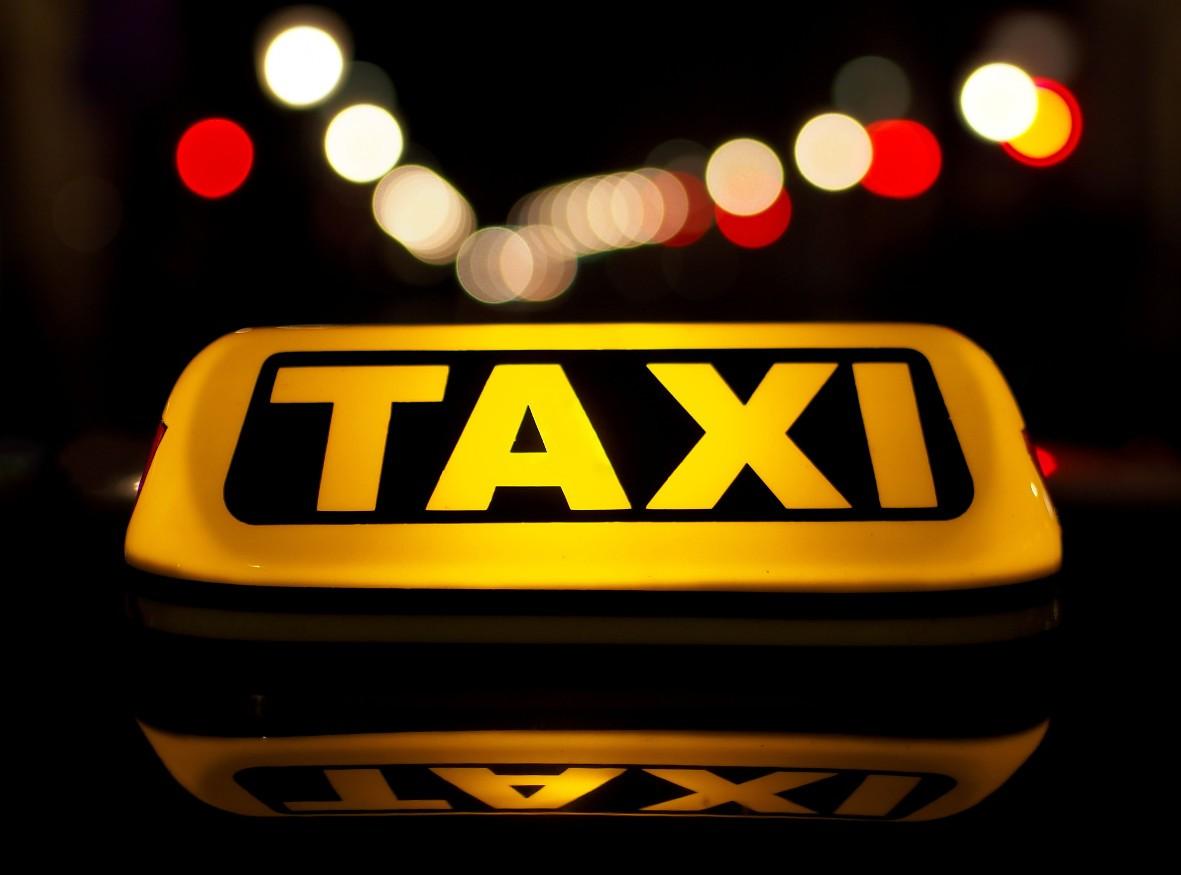 Taxi in Ljubljana, Slovenia